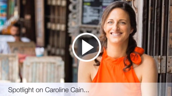 spotlight on Caroline Cain 2