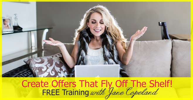 Create offers that fly off the shelf